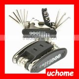 UCHOME 15 in 1 Multifunction Bicycle Repair Tool Kit /High Quality Bike Repair Tool Kit For Bicycle