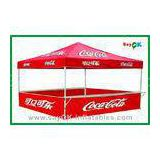 Commercial Trade Show Folding Tent Waterproof Easy Up Tent For 4 Person