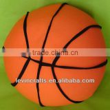 LE-A130402002 pure color stuffed basketball playing toys