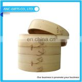 Chinese bamboo oyster steamer pot