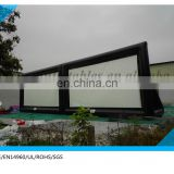 outdoor inflatable screen for cinema /inflatable projector screen/inflatable movie sreen