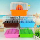 High quality luxury hamster cage animals transparent clear view larger plastic house acrylic cheap pet cage