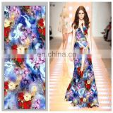 Long Maxi Dress China Suppliers On Printed Rayon Fabric