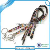 multi color cheap rhinestone lanyards wholesale