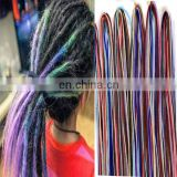 alibaba com new arrival wholesale price chromatic colour reggae dreadlock extension, hot selling very popular hair