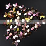 3D flower loose Paillette sequins trimming glue on shoulder Fine Shining DIY Clothes For Party Dancing Jewelry Make accessories