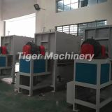 Horizontal Paddle Mixer Pvc Mixing Machine