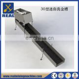 Gold Sluice Box Highbanker with gold mat gold mining machine