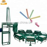 Colorful Chalk Making Machine in India school dustless chalk production line