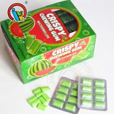Watermelon Strawberry Flavor Crispy Chewing Gum
