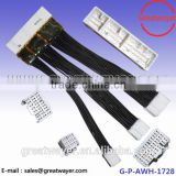TXL 0.5MM Auto Cable Europe Standard 72 Pin Socket 3 Arraies Wire Harness