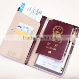 Genuine leather passport holder,Certificate holder NS-1134