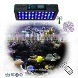 Amazon Top Sellers 120W programmable auto intelligent remote control Par38 Led Aquarium Light for Reef Tanks