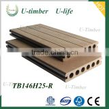 High Quality Natural Outdoor wpc easy-installation decking tile