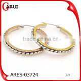 most salable products indian gold earrings designs stainless steel hoop earrings                                                                                                         Supplier's Choice