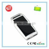 Hot selling products Waterproof Solar Power Bank 1200mAh Solar Mobile Phone Charger Solar Charger