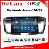 Wecaro WC-HA1059 10.2 inch android 4.4/5.1 car dvd player for honda accord gps 2013 2014 2015 2016 With Wifi and 3G GPS