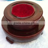 D9.5CM Wooden base, Glass ball base, Wooden stand, Flower Stand,