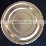 73mm Tinplate ends,tin bottom ends,lacquered tinplate ends for Food cans