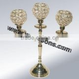 Candle Holders Crystal Candelabras Sale candle holder 3 arms crystal candelabra in India