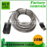 Shenlantuo USB 2.0 Active Extension Cable Type A Male to A Female USB Repeater Cable With Signal Amplifier IC 10 Meter 30 Foot                                                                         Quality Choice