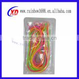 decorate durable silicone string/ promotion durable silicone string/ durable silicone string