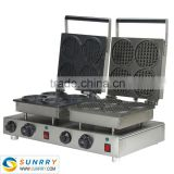 Electric mini waffle cake machine maker with stainless steel (SUNRRY SY-WM55D)                                                                         Quality Choice