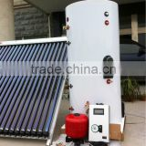 Split pressurized system heat pipe vacuum tube solar water heater with SP116 working station