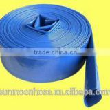 "PVC lay flat flexible hose,2"",2.5"",3"", 4'' 6'' 8'' 10'' and 12'' ,150psi~300psi,hose fittings"