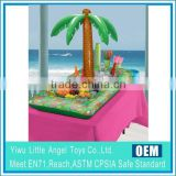 Palm tree Inflatable drink holder float salad bar palm tree