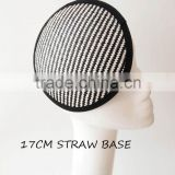 Hat millinery straw bases/fasicnator base wholelsale                                                                         Quality Choice