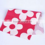 Cotton flower printed PVC coated fabric for apron