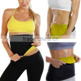 Women Neoprene Body Shaper Set Slim Waist Pants Belt Yoga Vest Hot Shaper