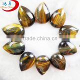 Bulk Wholesale Tear Drop Gems Cabochon Tiger Eye