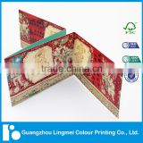 Guangdong printing factory cheap high quality tri-fold matte laminate brochure                                                                         Quality Choice
