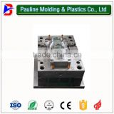 double colour mould two time injection mould, plastic parts with rubber injection mould,
