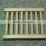 Wholesale Bamboo Cheap Natural Color Wooden Soap Dish