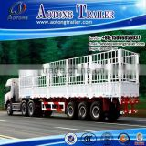 Agricultural Product transport semi trailer/stake semi trailer manufacturer/hot sale stake semi-trailer