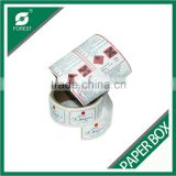 FANCY CUSTOM ADHESIVE FULL COLOR WATERPROOF PAPER STICKER LABEL,ADHESIVE PACKAGING PRINTED LABELS