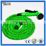 Magic flexible expandable spray nozzle garden water hose, as seen on tv retractable 2 layers latex water garden hose