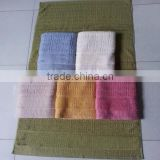 zero twist bamboo fiber terry towel stock lot
