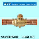 HBV Air Condition High Pressure Shut off Ball Valve