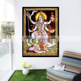 Hindu Goddess Kali Art Decor Tapestry