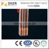 Copper Bonded Steel Threaded Ground Rod of earthing