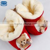 (506-1)Nova infant winter shoes newborn baby winter warm shoes wholesale China cheap wear