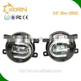 China direct supplier auto car parts led drl fog light/fog lamp/daytime running light for toyota corolla