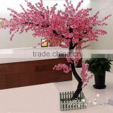 .China Manufacture UV proof high quality garden decorative artificial peach blossom tree