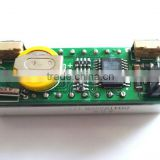 "3 IN 1 0.36"" RED Real Time + thermometer + voltmeter Clock Module"