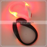 sports equipment for shoes silicone decorative led clip light