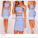 2016 new fashion off shoulder party club sexy women cheap bandage dress                                                                         Quality Choice